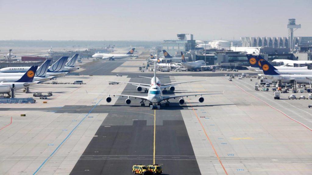 Anstrengungen Rückgang Luftfahrtemissionen