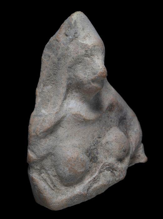Antike Keramikfigur Nahal HaBesor Nationalpark