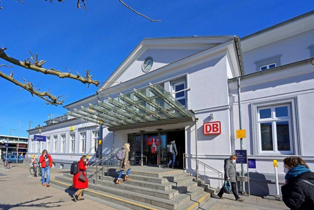 Bahnhof Lüneburg nach Sanierung