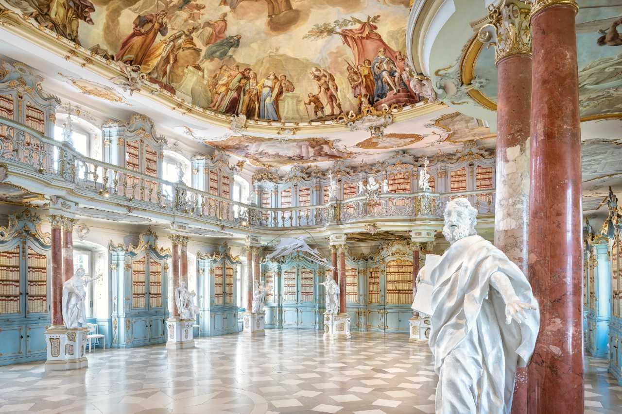 Bibliothekssaal im Kloster Schussenried