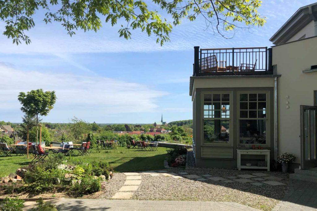 Blick von Villa Weitsicht Bad Doberan