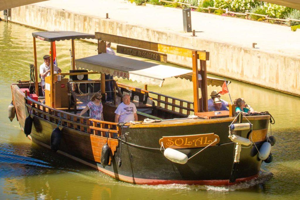 Bootstour auf dem Robine-Kanal