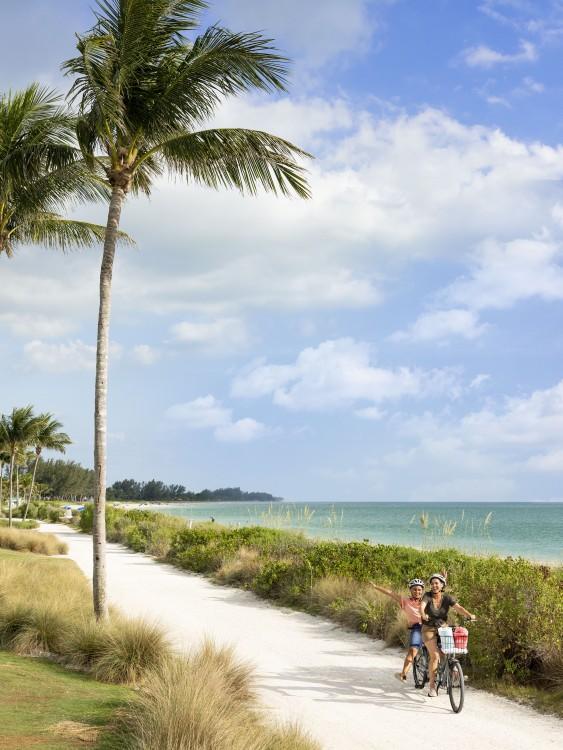 Fahrradweg Fort Myers Strand