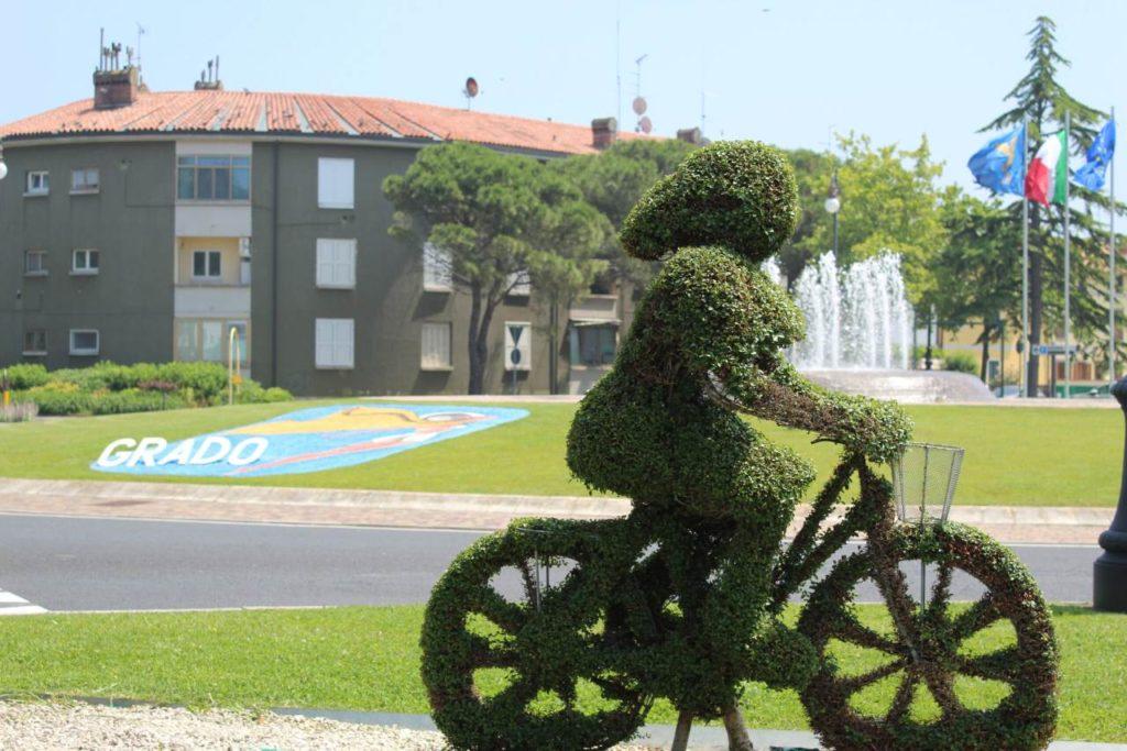 Grado im Zeichen des Radsports