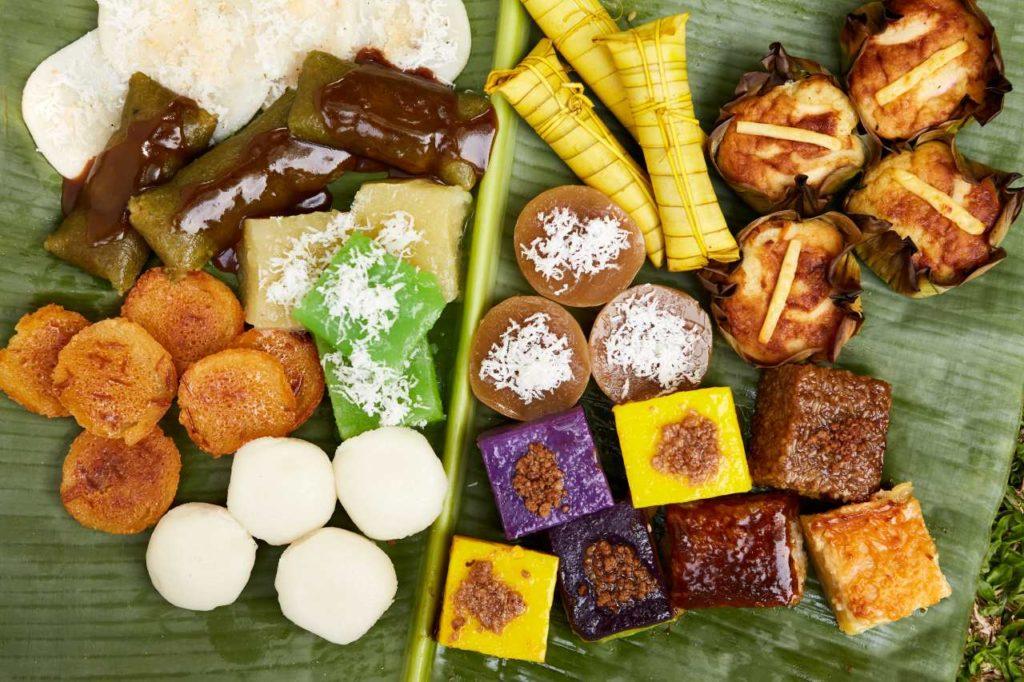 Kakanin Reiskuchen-Dessert Philippinen