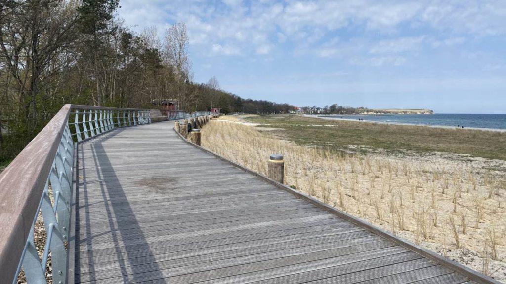 Neue Dünenpromenade im Ostseebad Boltenhagen