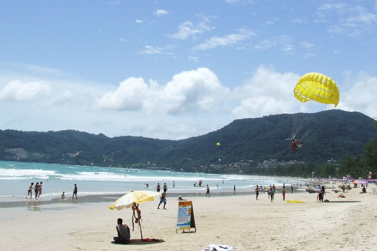 Patong Beach Strandleben