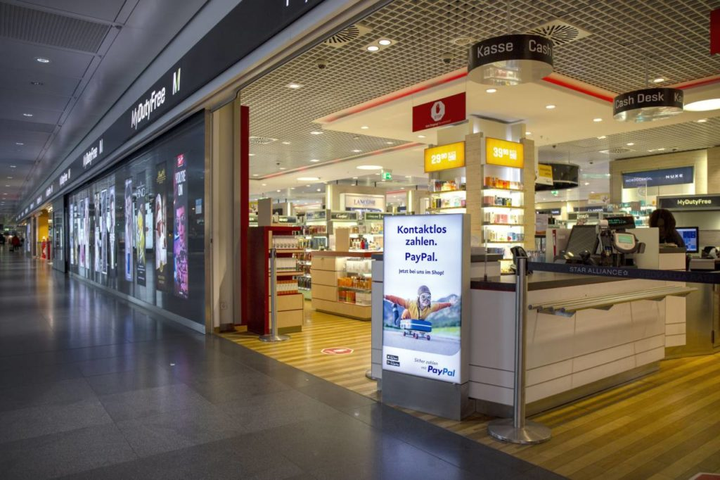 PayPal Flughafen München