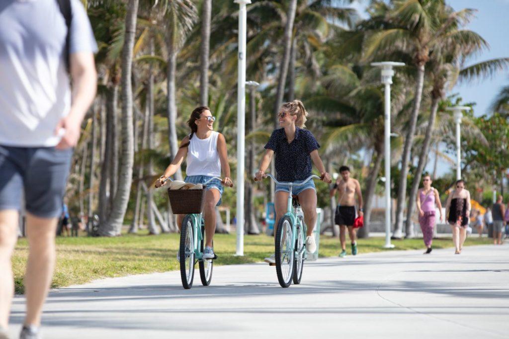 Radeln South Miami Beach Lummus Park