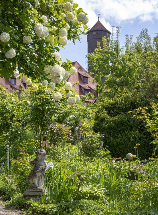 Rotenburg ob der Tauber Garten Familie Kistenfeger