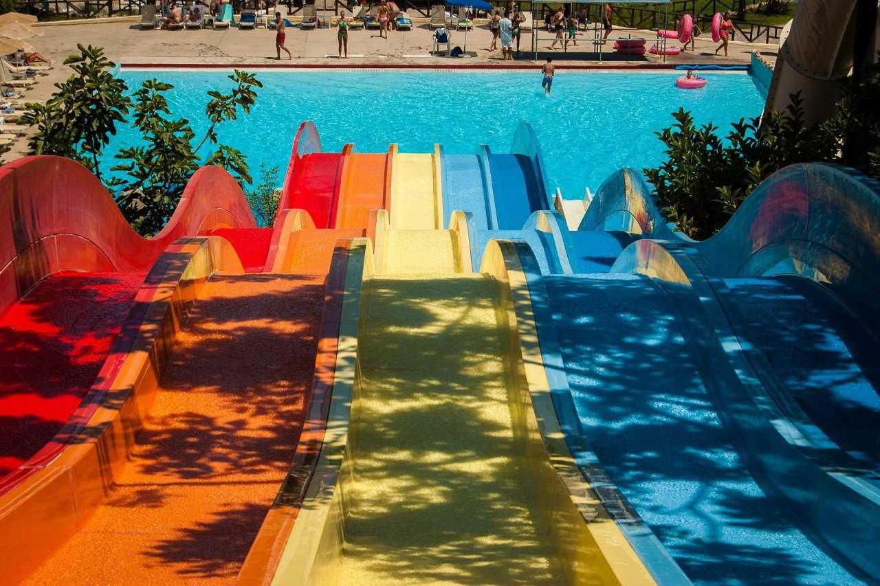 Rutschen Aquapark