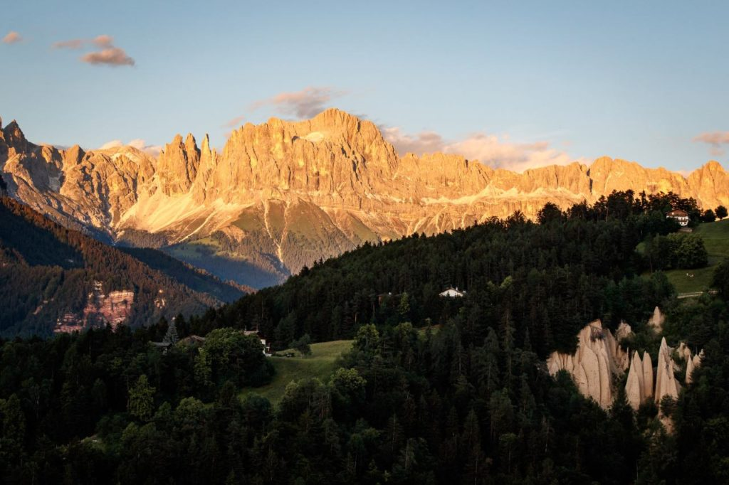 Steinegger Dolomiten Panorama