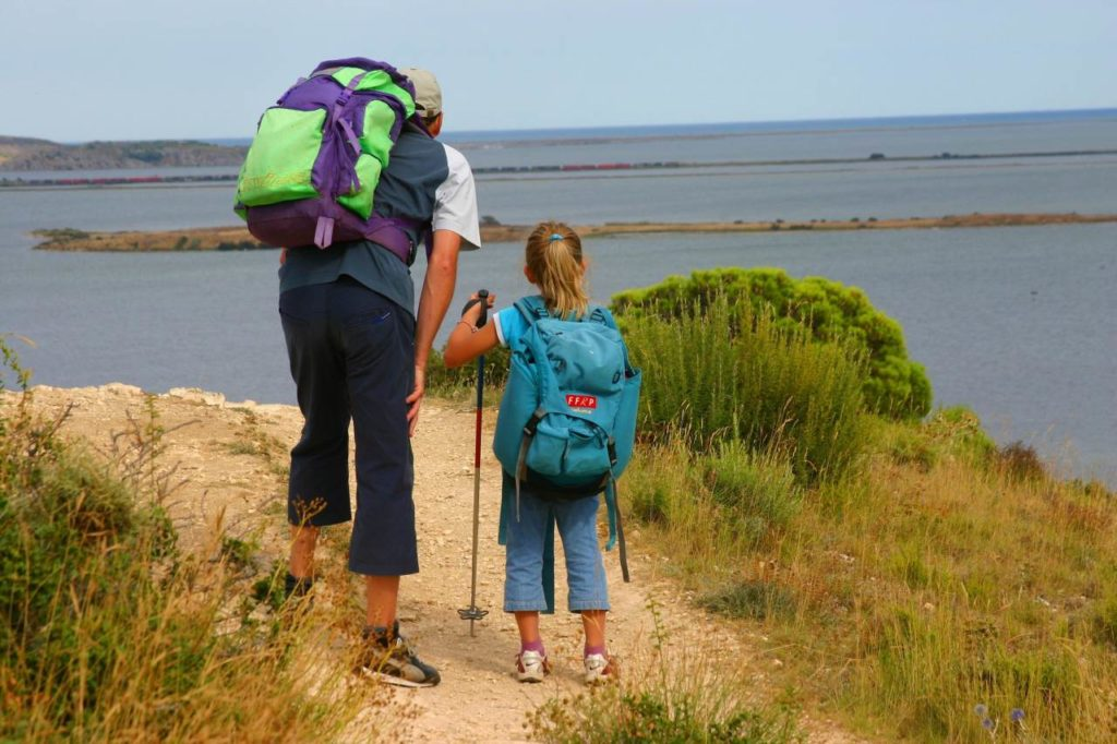 Wandern mit Kind Naturpark la Narbonnaise
