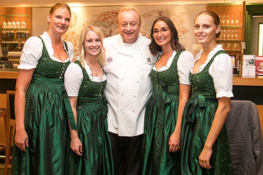 Alfons Schuhbeck Bergrestaurant Predigtstuhlbahn