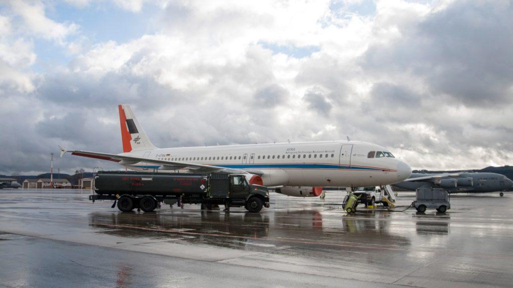 DLR Airbus Betankung mit alternativen Treibstoffen