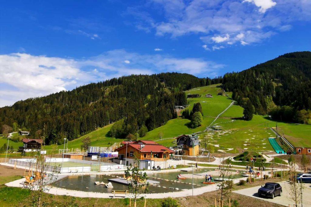 Freizeitpark Drachental Wildschönau Gesamtansicht