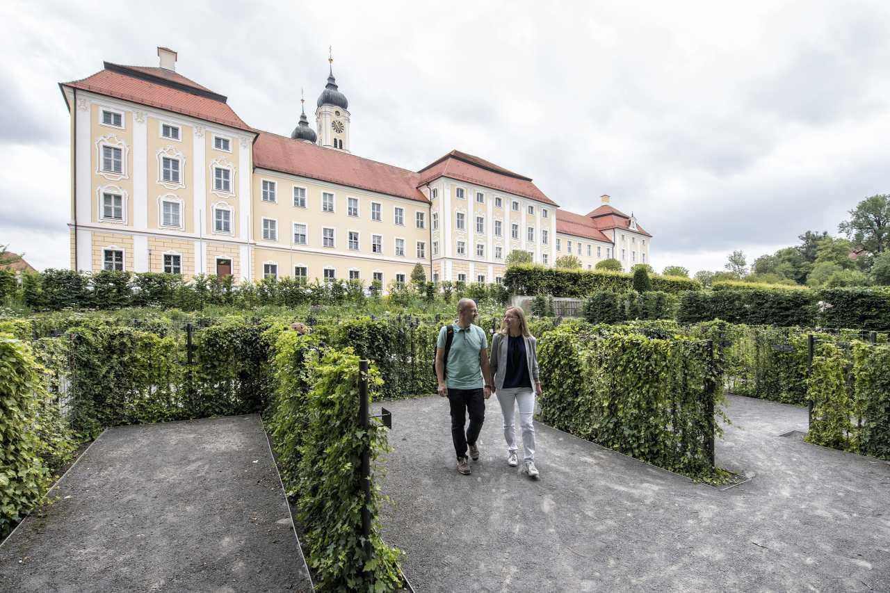 Kloster Roggenburg Aktivurlaub Entspannung