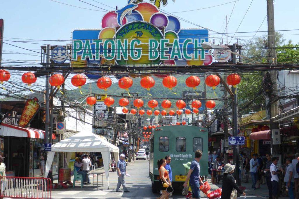 Patong Beach Vergnügungsviertel
