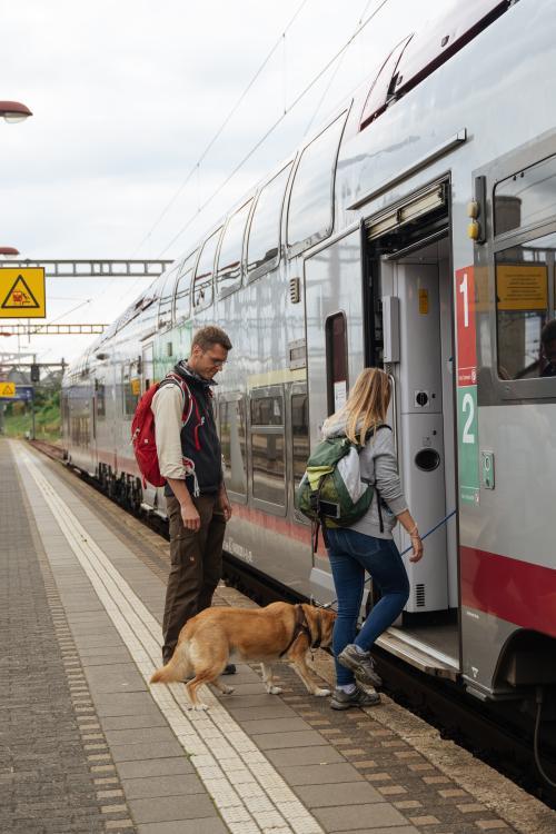 Wanderer ÖPNV Luxemburg