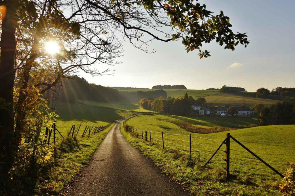 Wandern und Entschleunigen im Guttland