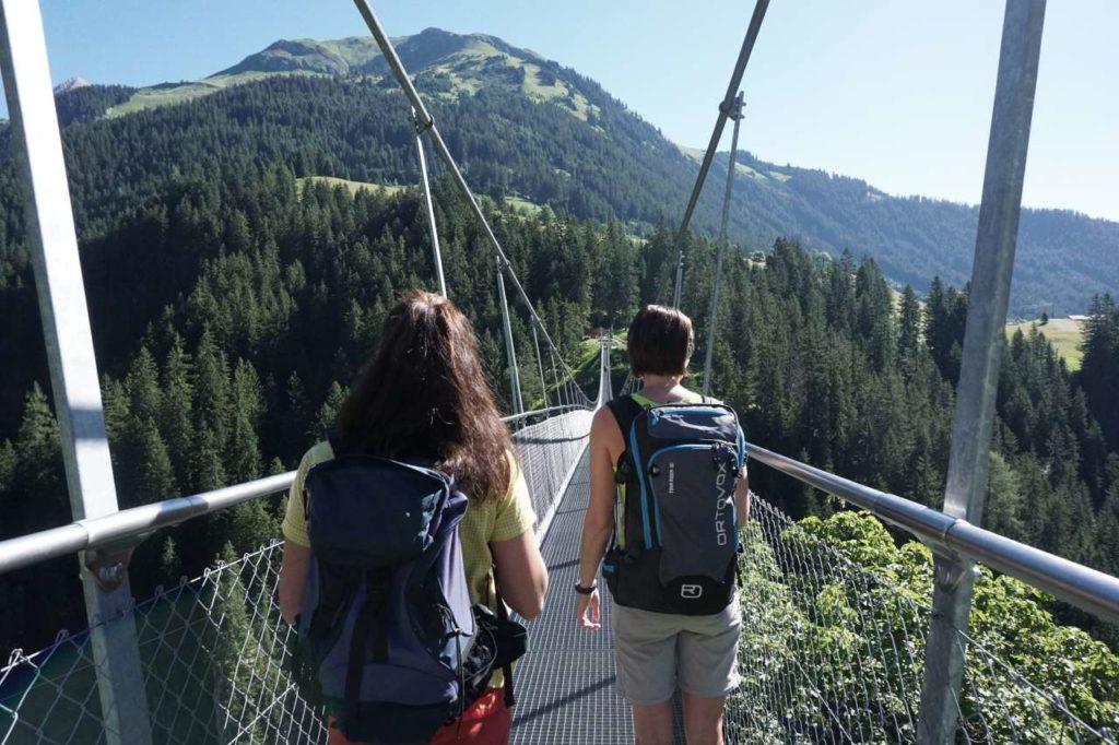 Abenteuer Hängebrücke Höhenbachtalschlucht