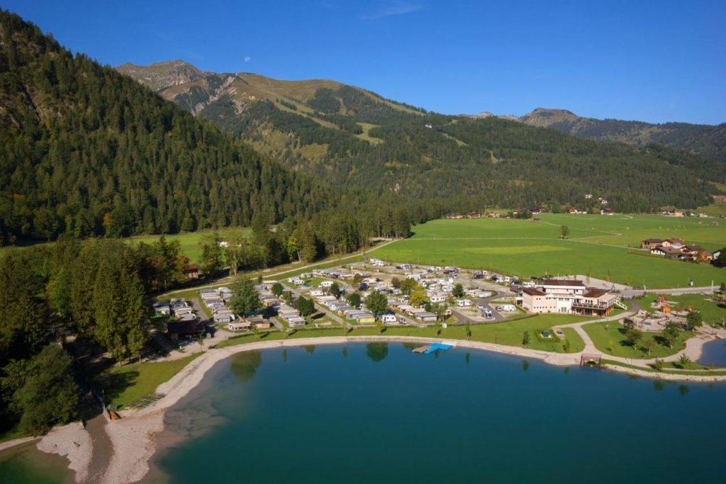 Alpen Caravan Park liegt direkt am Achensee