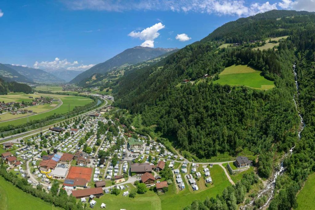 Campingplatz Aufenfeld im Zillertal
