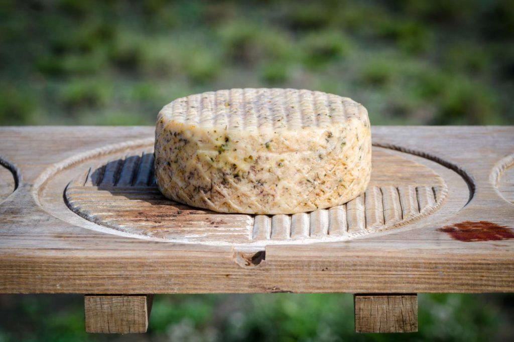 Frischer Käse aus Lanzarote