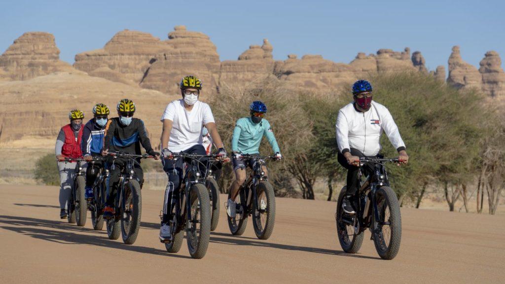 Geführte Fahrradtour in AlUla