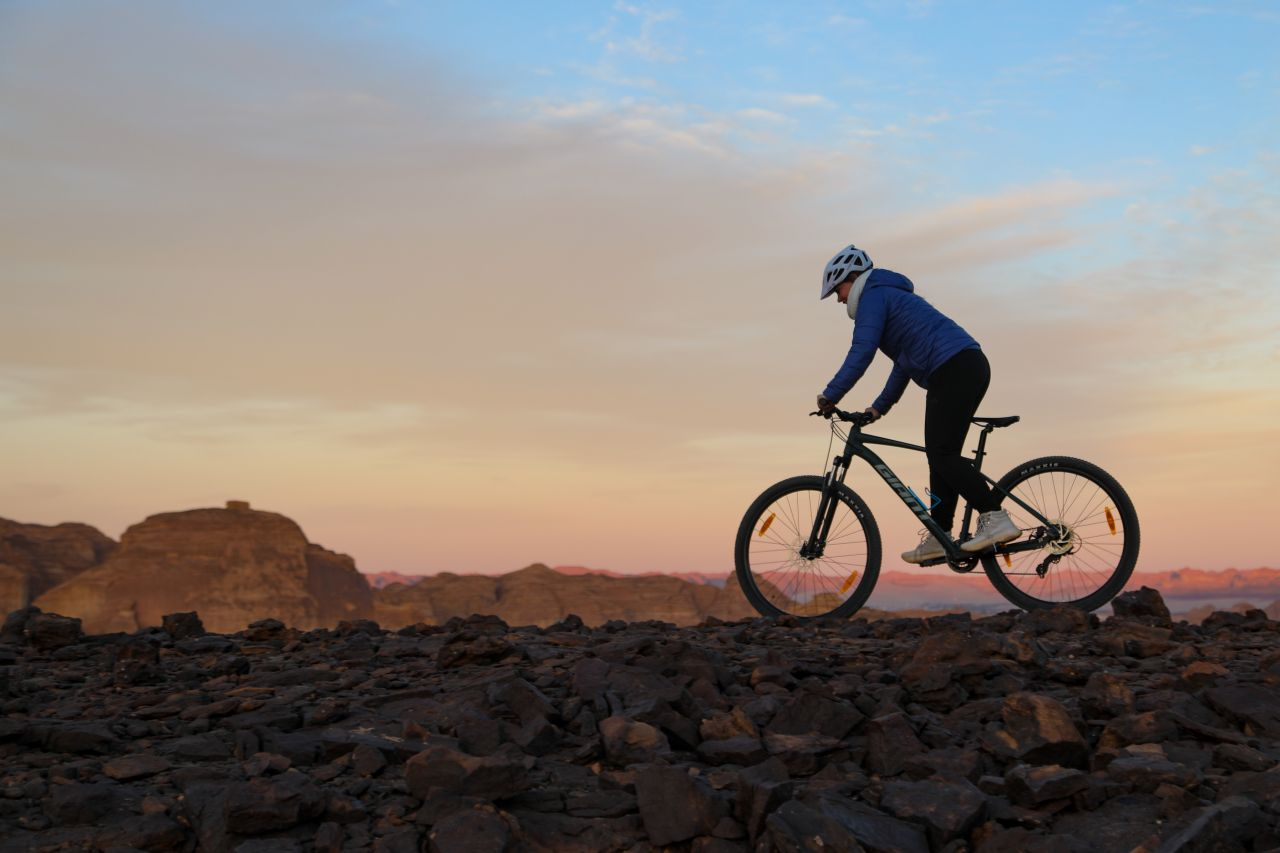 Mountainbiker Bike Park AIUla