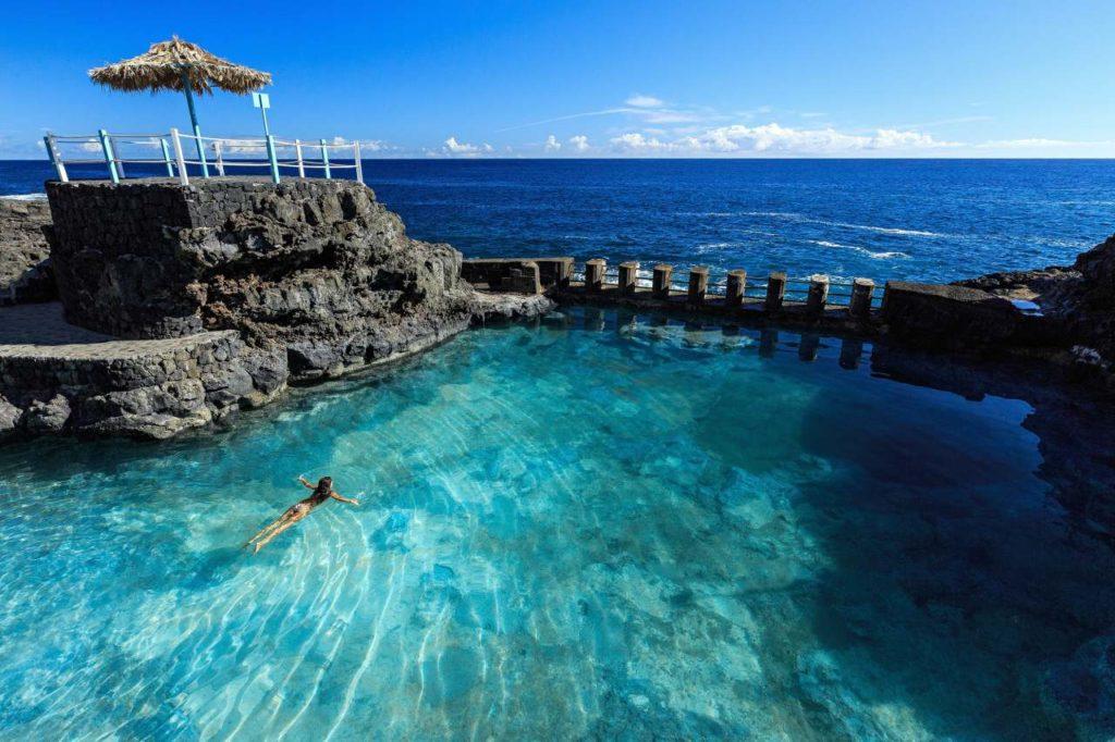 Naturschwimmbecken Charco Azul La Palma