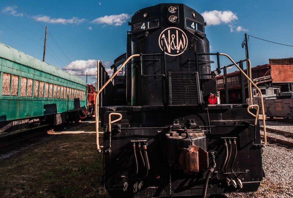 Norfolk Western Lokomotive Virginia Museum