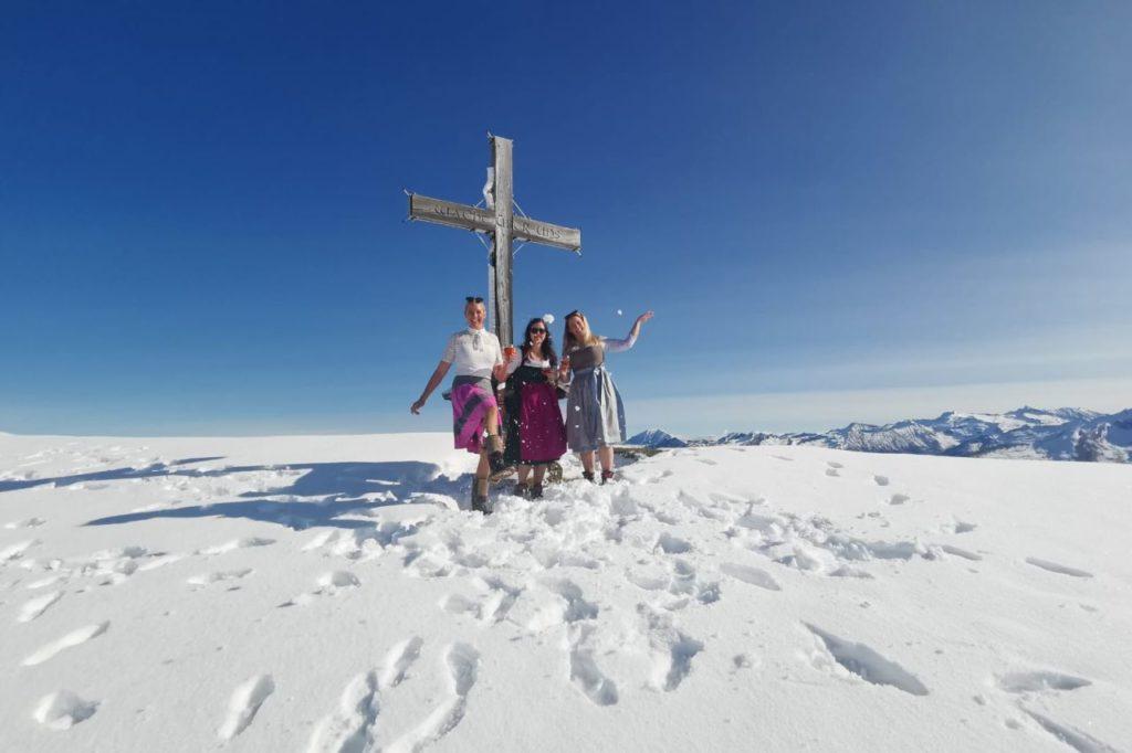 Spaß im Schnee Gamskarkogelhütte
