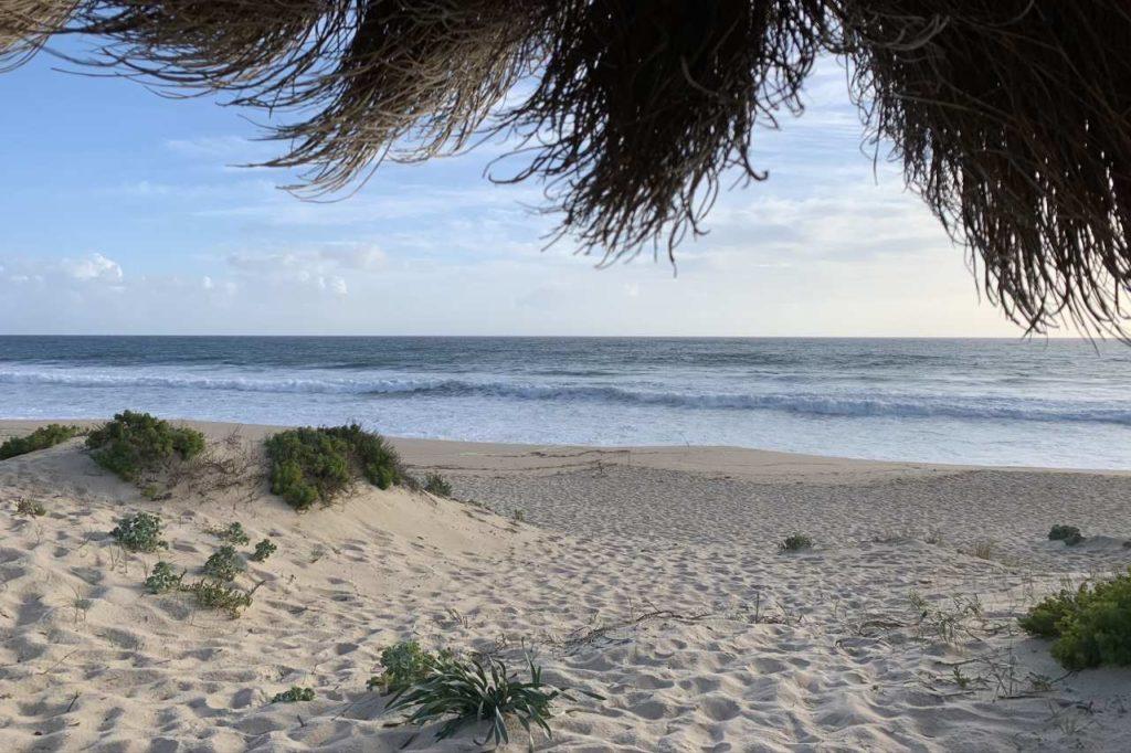 Strand Comporta ruhiges Plätzchen
