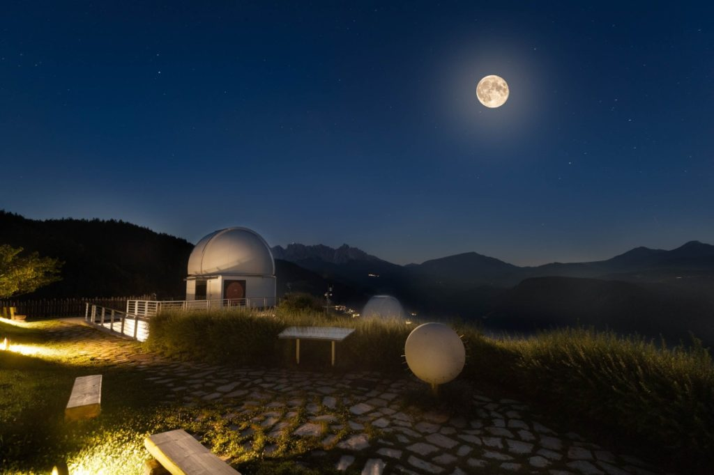 Vollmond Sternenwarte Eggental