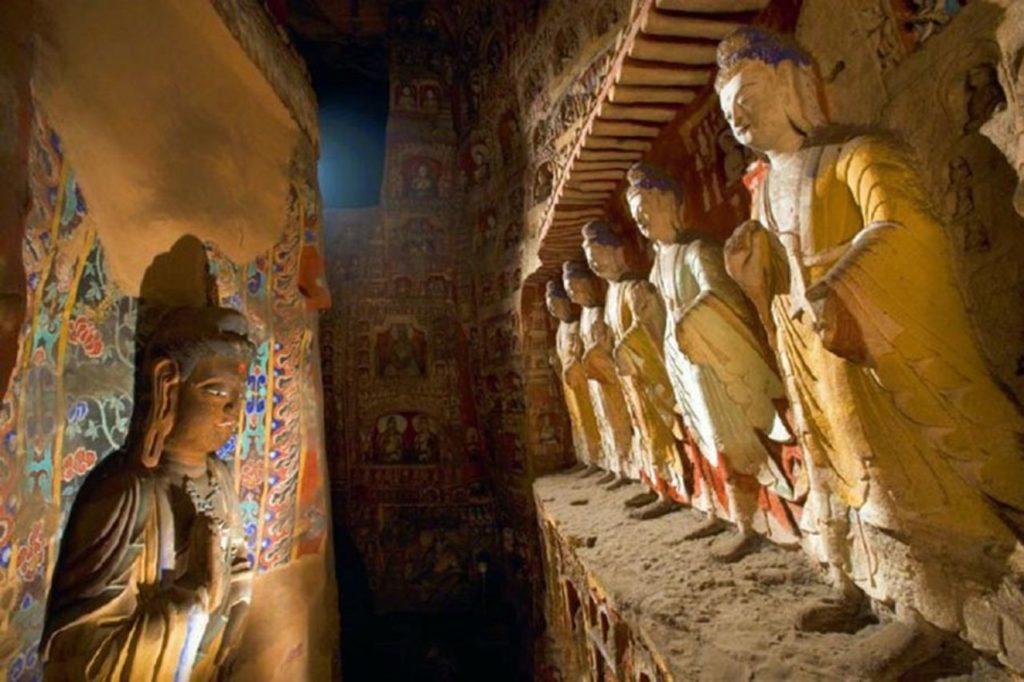 Yungang Grotten restauriert
