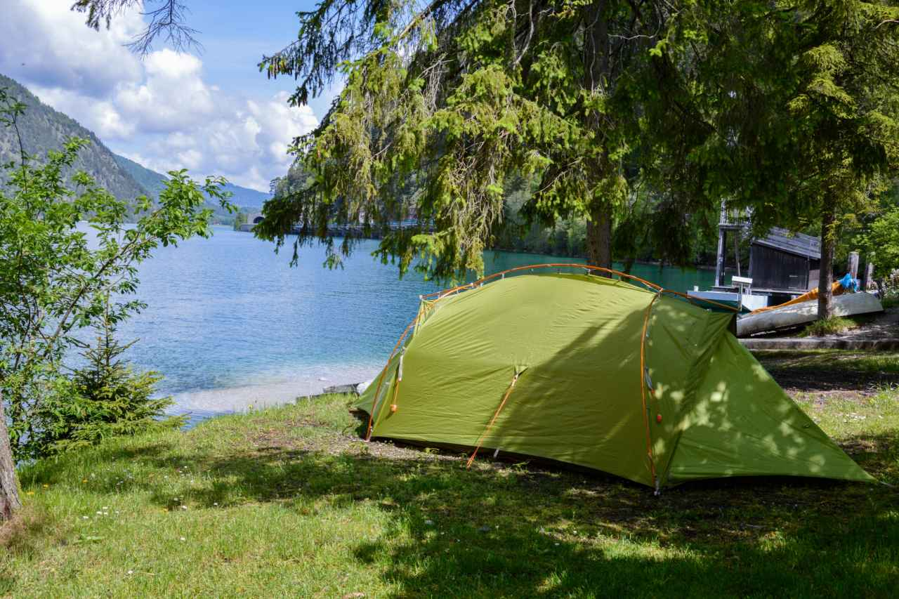 Zeltplatz Camping Schwarzenau Achensee