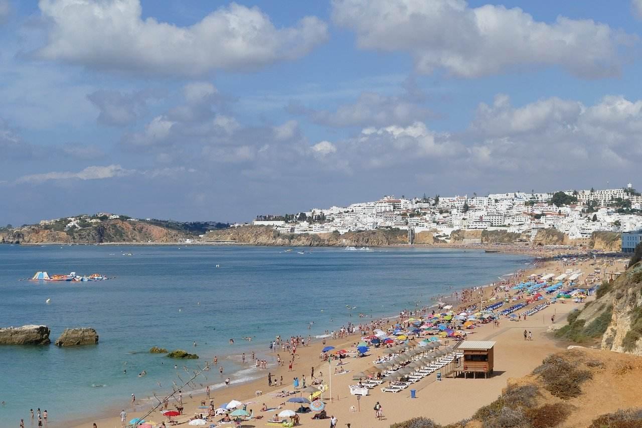 Albufeira mit Strand