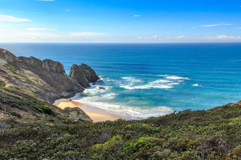 Algarve Westküste Bucht