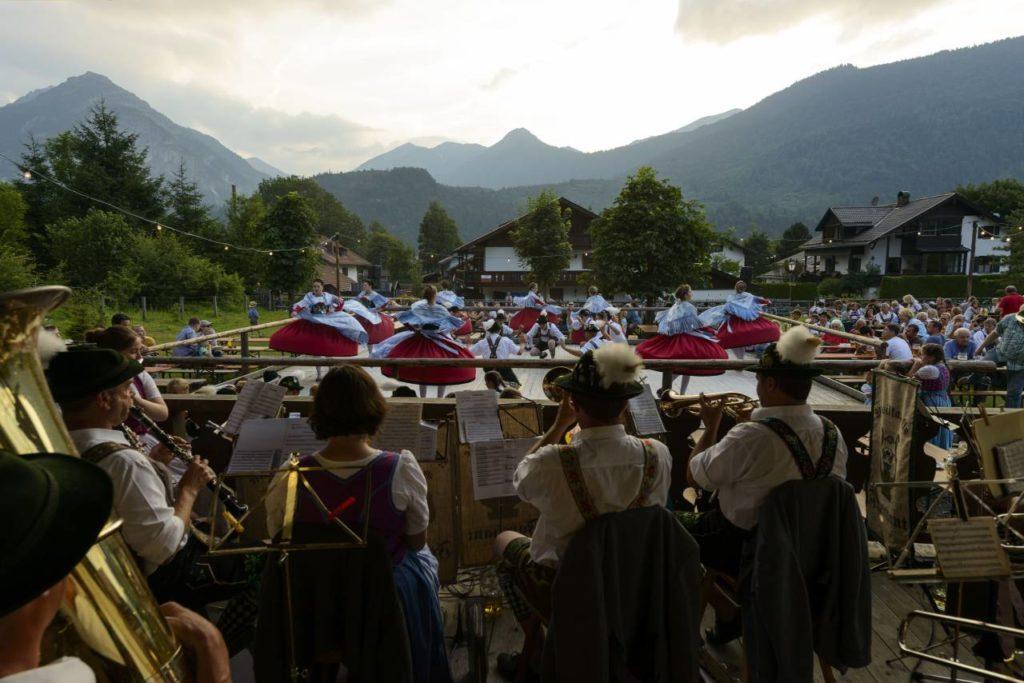 Brauchtumsabend Farchant bayerische Musik