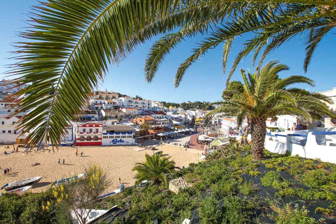 Carvoeiro Algarve Strand