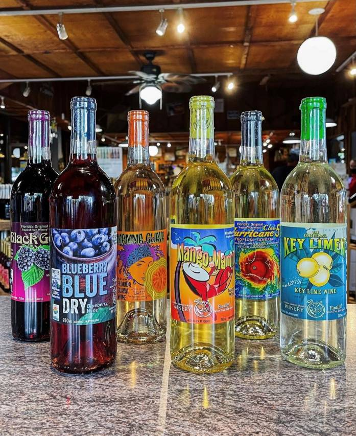 Fruchtige Weine Florida Orange Groves Winery