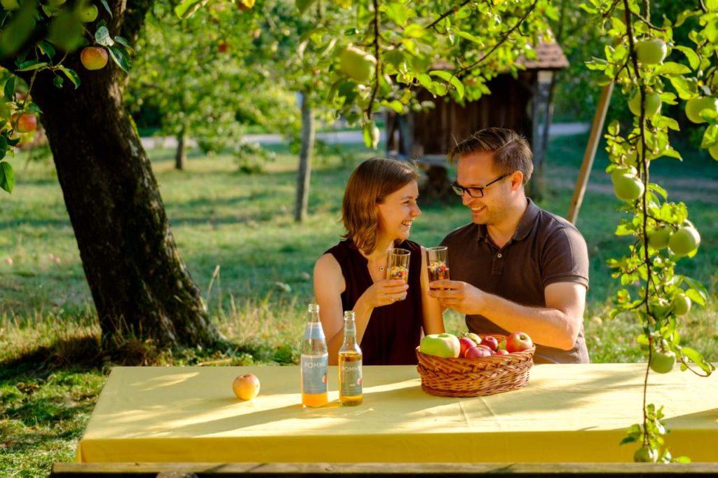 Genuss Saft Streuobstsortengarten Pomme 200