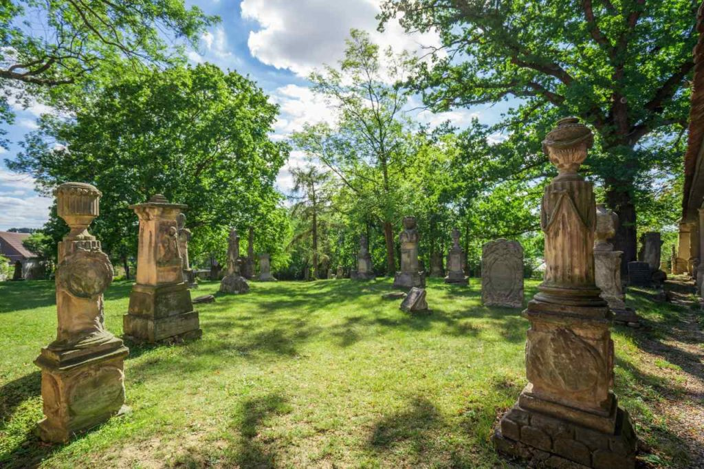 Grabmale Friedhof Camposanto
