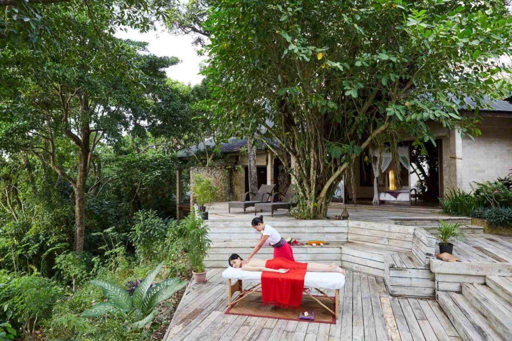 Massage unter freiem Himmel Mandala Spa Boracay