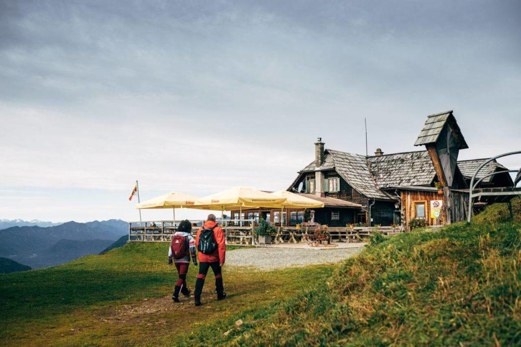 Pöllingerhütte Gerlitzen Alpe Wildgericht