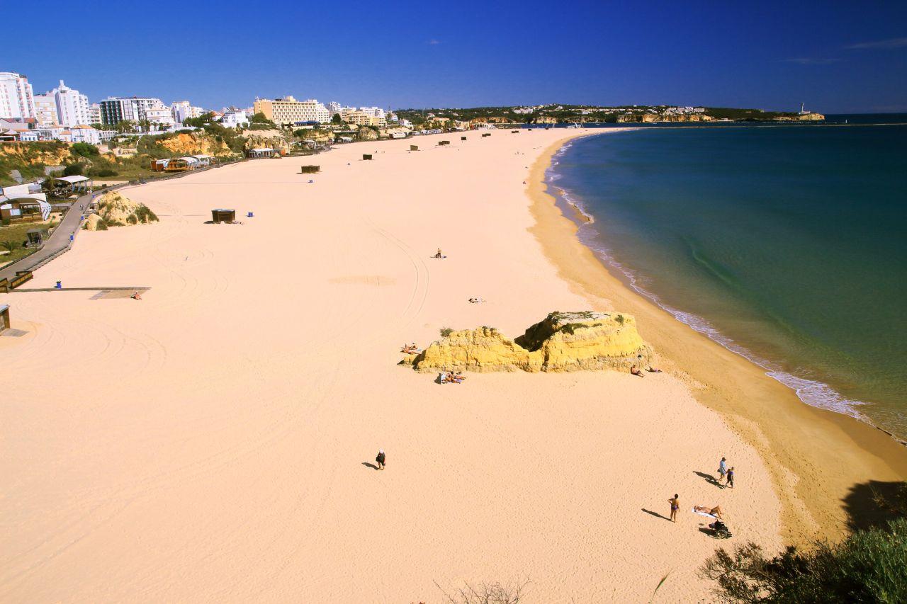 Portimão Strand Küste