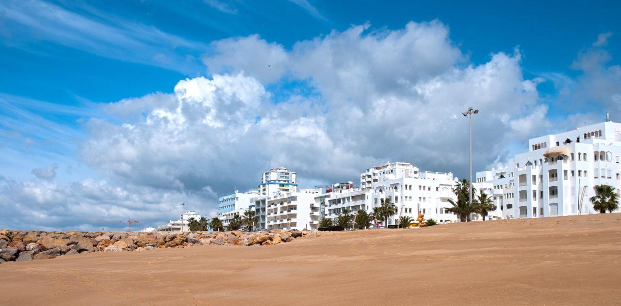 Quarteira Algarve Strand