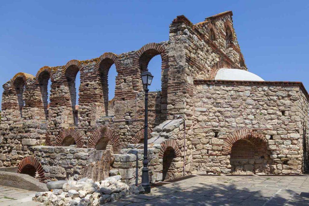Ruine Kirche Saint Sophia Nessebar