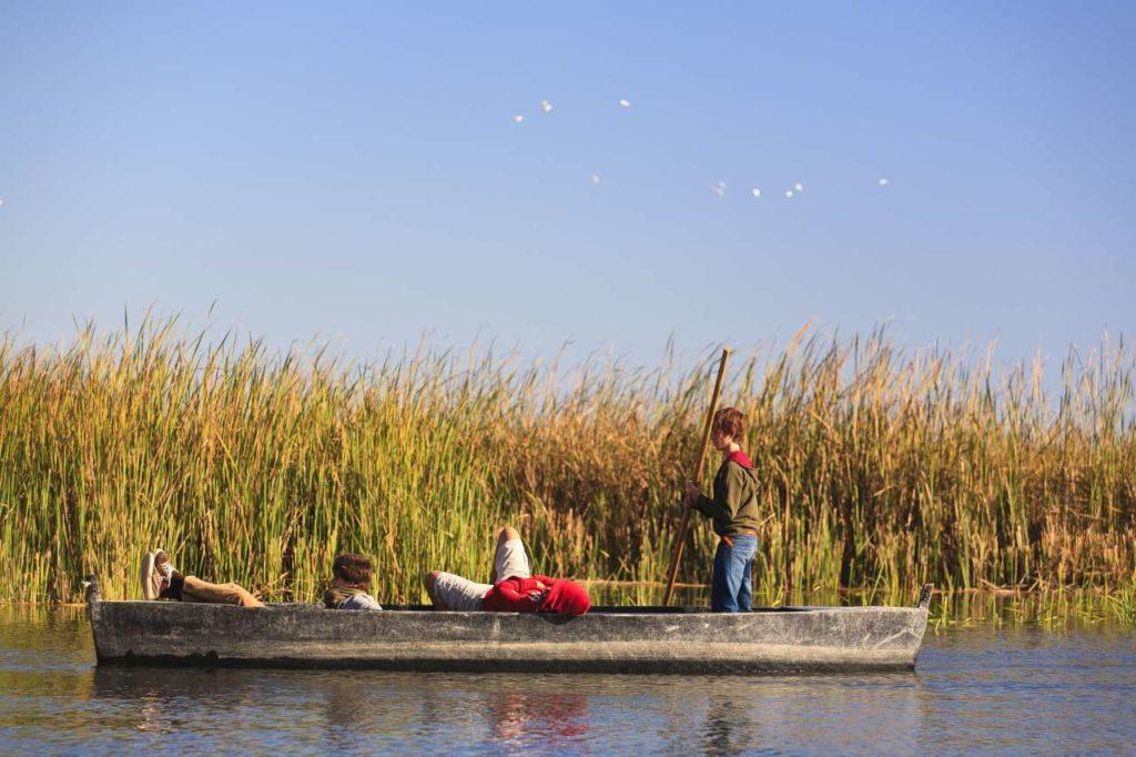 Stakboot Ebrodelta
